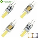 4 x G4 GZ4 MR11 MR16 4W Sapphire LED​ 460LM 3500K 6000K Warm White/Cool White Waterproof LED Corn Bulbs  DC/AC12-16V