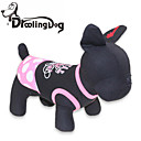 Dog / Cat Dress Black Summer Polka Dots