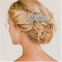 Buy Flashion Charming Wedding Party Bride Branch Austria Crystal Silver Combs Hair Accessories