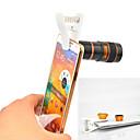 apexel grampo universal 4 em 1 lente telefoto lente kit 8x + grande angular + lente macro + lente olho de peixe para Samsung
