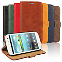 Bark Grain Genuine Leather Full Body Cover with Stand and Case for Samsung Galaxy S3 I9300 (Assorted Colors)