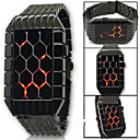 Men's Watch LED Electronic Movement of D-1093 New Grid Style