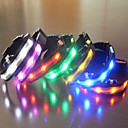 LED luminous dog collar Random Colors 1Pcs