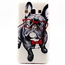 Buy Glasses Dog Pattern TPU Soft Cover Samsung Galaxy A3