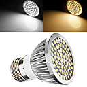 E27 7W(=Incan 60W) 60X2835SMD 700LM CRI>80 WarmWhite/White Light LED Spotlight Bulb AC110V /220V