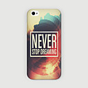Buy iPhone 6 Case / Plus Pattern Back Cover Word Phrase Hard PC 6s Plus/6 6s/6
