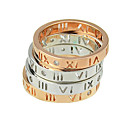 New Model Simple Rose Gold And Silver Plated Engagement Ring