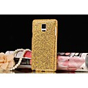Glitter PC Hard Back Case For Samsung Galaxy Note 4  (Assorted Color)