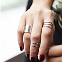 Fashion Hollow 3 Suits Midi  Rings (1pc)