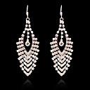 Buy Earring Stud Earrings / Drop Jewelry Women Imitation Pearl Rhinestone Gold Plated Silver