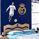 Exciting Soccer Real Madrid Ronaldo PVC Wall Sticker Wall Decals