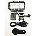 GoPro Accessoires Bevestiging / Spot Light LED VoorGopro Hero 1 / Gopro Hero 2 / Gopro Hero 3 / Gopro Hero 3+ / Gopro 3/2/1 / Sport DV /