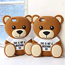 Silicone Material Cute Bear design for iPhone 6S/6 Plus