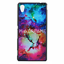 Buy Sony Case Pattern Back Cover Word / Phrase Hard PC Xperia M4 Aqua
