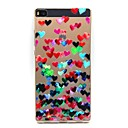 Buy Huawei Case / P8 Ultra-thin Back Cover Heart Soft TPU P7