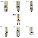 1 Stück Dimmbar Mais-Birnen E14/G9/G4/E12/E17 8 W 720 LM 3000/6000 K 80 SMD 3014 Warmes Weiß/Kühles Weiß AC 220-240/AC 110-130 V