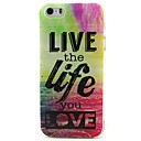 Buy Life Pattern TPU Material Soft Phone Case iPhone 5/5S