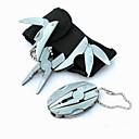 muoti ruostumaton teräs plier / veitset / avaimenperään taitto Monitoimityökalut retkeily / ulkoilu