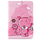 Bear Pattern PU Leather Full Body Case With Stand for Samsung Galaxy Tab A 9.7 T550