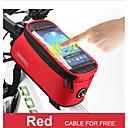 Bike Frame Bag - Vedenkestävä/Liukuestetty ( Kuten kuvassa , Nailon/Kanvas/1680D vedenpitävä materiaali , 1.5L L)  Pyöräily
