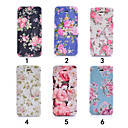 Buy Colourful Flower Ultra Thin View Window Flip Cover PU Leather Case iPhone 5C(Assorted Colors)