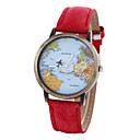 Unisex Watch Women's Watch Map Watch Strap Movement Watch Cool Watches Unique Watches