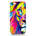Colorful Lion Pattern Back Case for iPhone 6