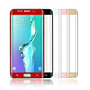 Angibabe 0.1 mm PET hot bending surface membrane For Samsung Galaxy  S6 Edge Plus G9280 5.7 Inch(Assorted Color)