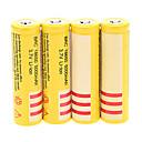 Buy BRC 5000mAh 18650 Battery (4pcs) + 4 Pcs/Lot Hard Plastic Storage Box