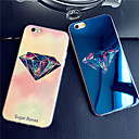 Luxurious Diamonds Colorful Blue Light Reflective Blu-ray Soft TPU Case Cover for iphone 6/6s
