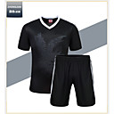 Buy Men's Soccer Shirt+Shorts Clothing Sets/Suits Breathable Quick Dry Lightweight Materials Spring Summer Fall/Autumn Winter Classic Terylene