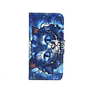 Buy Blue Cat Pattern PU Leather Full Body Case Card Slot Stand iPhone 5C