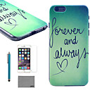 Buy LEXY® Green Word Pattern Hard PC Back Case 9H Glass Screen Protector Stylus iPhone 5/5S