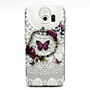 Butterfly Pattern TPU Relief Back Cover Case for Galaxy S5 Mini/S5/Galaxy S6/Galaxy S6 edgePlus/Galaxy S6 edge