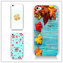 Buy Leaves Pattern PC Phone Case Back Cover iPhone5/5S