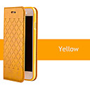 Buy 2015 New Grid Pattern Flip PU Leather Cover iPhone 4/4S(Assorted Colors)