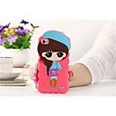 Buy Cartoon Shell Silicone Sets Mobile Phone Protection Apple iPhone 4/4S(Assorted Color)