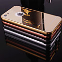 Buy Plating Mirror Back Metal Frame Phone Case iPhone 5C(Assorted Colors)