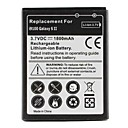 Erstatningsbatteri til Samsung Galaxy S2 i9100 (3.7V, 1800 mAh)