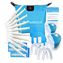 Home Use Tooth Whitening Kit Teeth Whitener Tools with Mini Dental Laser Light Bleaching Whiten Suit