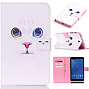 Buy Samsung Galaxy Case Card Holder / Wallet Stand Flip Pattern Full Body Cat PU Leather SamsungTab 4 10.1 Tab