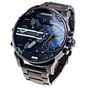 Men's Fashion Military Watch Multi Movement Quartz Steel Watch