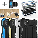 Buy R-JUST Gundam 100% Waterproof Metal Aluminum Gorilla Glass Case +Sports armband iPhone6 Plus
