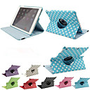 Buy Luxury Print Polka Dot 360 Rotation PU Leather case Apple iPad Air 2 Tablet Smart Cover Flip Cases Stand