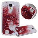 karzea ™ Dual Layer plast 3d tekoucí tekutý luxusním bling třpyt hvězd pouzdro pro Samsung i9500 s4 (různé barvy)