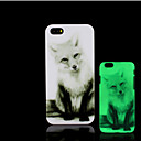 Buy Fox Pattern Glow Dark Hard Plastic Back Cover iPhone 5 5s Case