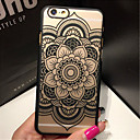 Retro Flower Pattern Openwork Relief Printing PC Material Phone Case for iPhone 6 /iPhone 6S (Assorted Colors)