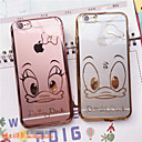 Ultra-Thin Fashion Smooth Electroplating TPU Soft Case with The Duck for iPhone 6/6s(Assorted Colors)