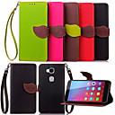 Buy KARZEA™ Leaf Snap PU Full Body Case TPU Back Cover Stand Huawei Honor 5X(Assorted Colors)