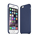 caso de telefone couro de alta qualidade simples para 6s iPhone 6 Plus